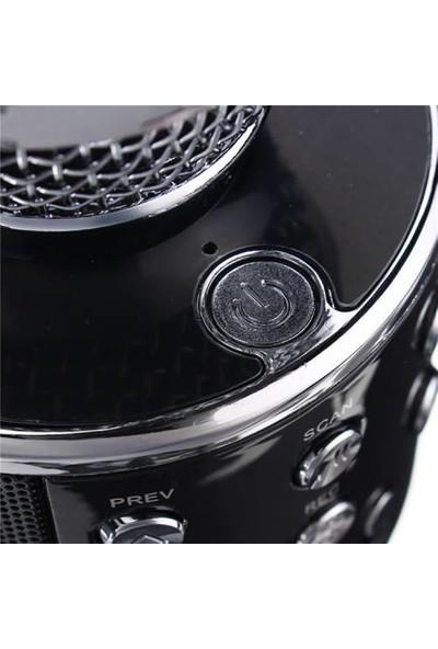 Tigdes Ws-858 Profesyonel Ses Kaydı Yapabilen Eğlenceli Karaoke Mikrofon Ws858 Siyah