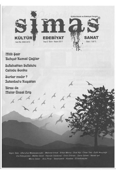 Simas Kültür Edebiyat ve sanat Dergisi