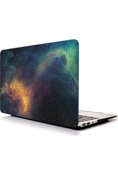 "Unico Apple Macbook Air 13"" ve 13.3"" A1369, A1466 Sert Koruyucu Kapak - Space"