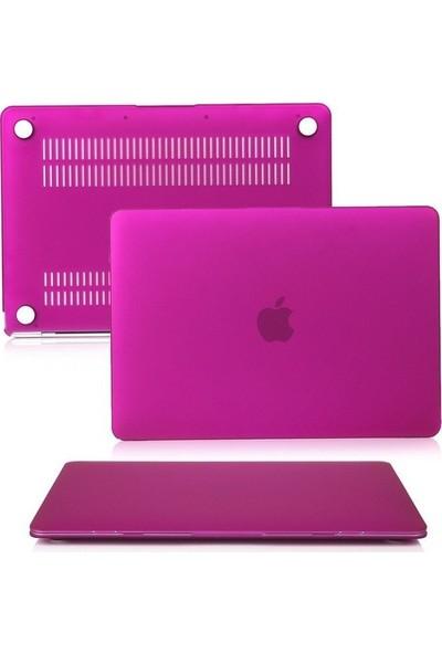 "Unico Apple Macbook Air 13"" ve 13.3"" A1369, A1466 Sert Koruyucu Kapak - Pembe"