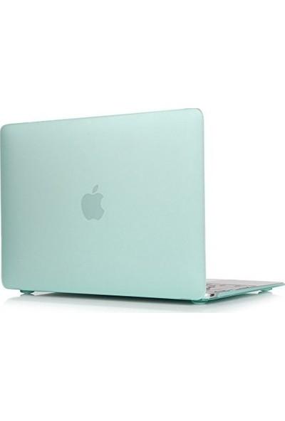 "Unico Apple Macbook Air 13"" ve 13.3"" A1369, A1466 Sert Koruyucu Kapak - Bebe Mavisi"