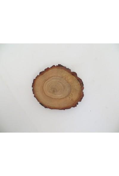 Green Wood Doğal Kütük Bardak Altlığı