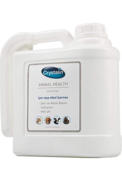 Crystalin Animal Health 5 LT ( Yara, Deri ve Meme Bakım Solüsyonu & Dezenfektan)