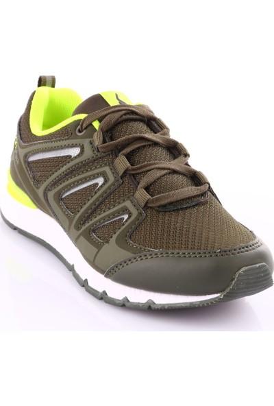 Lescon L-6208 Haki Çocuk Sneakers Ayakkabı