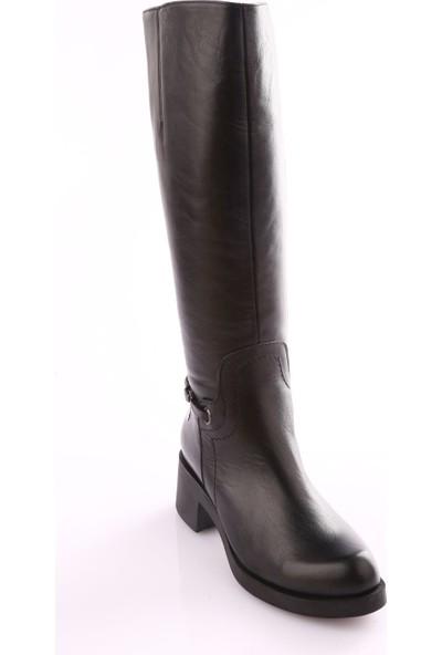 Mamma Mia D18Kc-2040 Kadın Ayakkabı Çizme Siyah