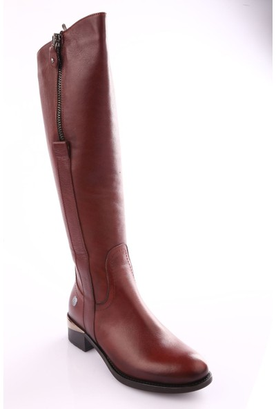Mamma Mia D18Kc-2045 Kadın Ayakkabı Çizme Kahve