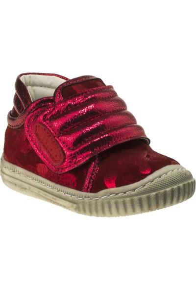 Vicco 918.18K.007 İlk Adim Deri Kırmızı Çocuk Ayakkabı