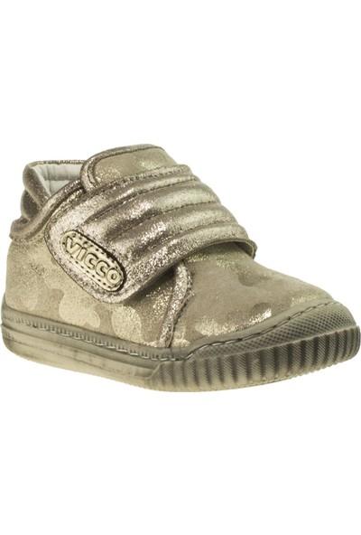 Vicco 918.18K.007 İlk Adim Deri Bronz Çocuk Ayakkabı