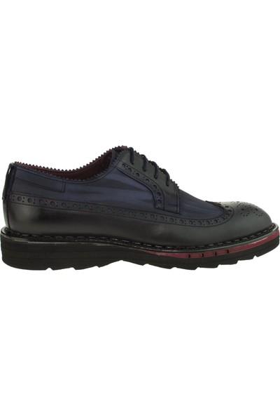 Tigra 15K770 Oxford Bağlı Lacivert Erkek Ayakkabı