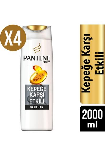 Pantene Şampuan Kepeğe Karşı Etkili 4 x 500 ml