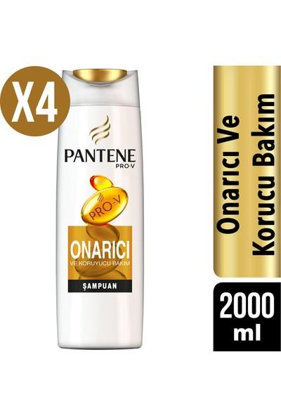 Pantene Şampuan Onarıcı ve Koruyucu Bakım 4 x 500 ml