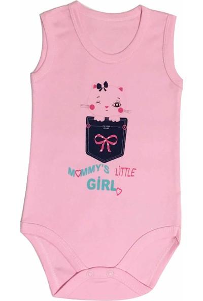 Oksima Baby Kız Baby Girl Atlet Body