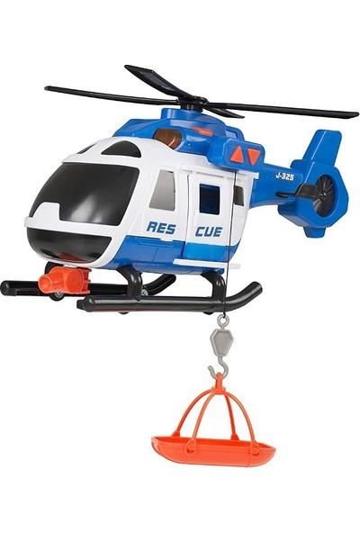 Teamsterz Siren Sesli Işıklı Yangın Söndürme Ve Kurtarma Helikopteri