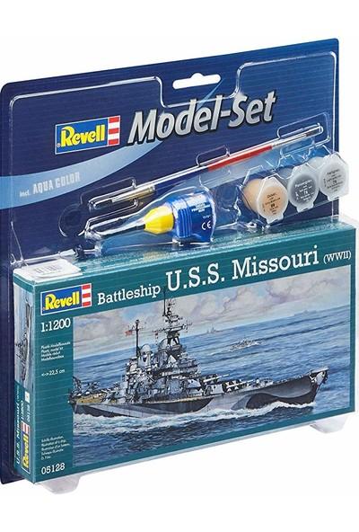 Revell Model Set Uss Missouri Wwıı - 65128
