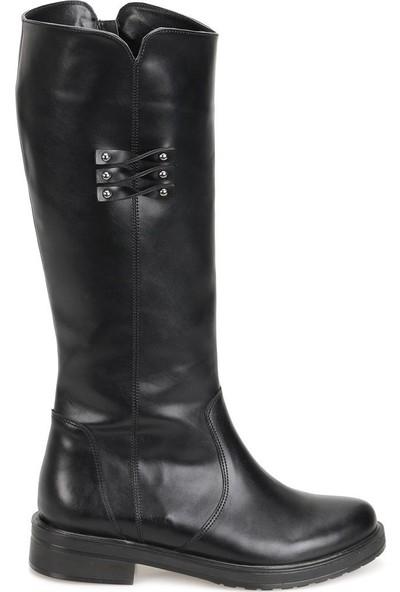 Butigo 18K-089 Siyah Kadın Çizme