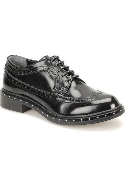 Butigo 18K-111 Siyah Kadın Maskulen Ayakkabı