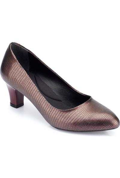 Polaris 82.312092Dz Bordo Kadın Ayakkabı