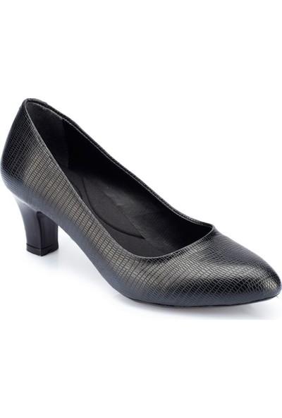 Polaris 82.312092Dz Siyah Kadın Ayakkabı