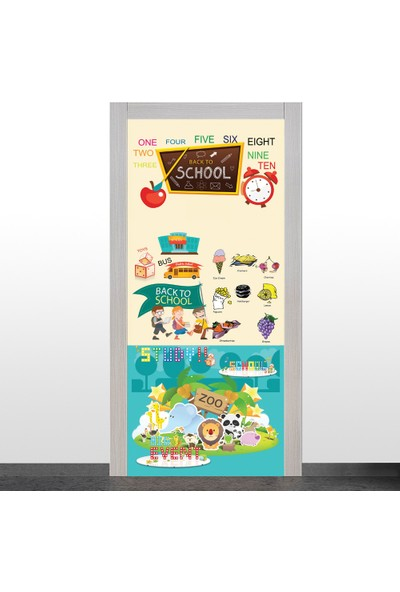 Okularenkkat İngilizce Sınıfı Kapı Giydirme- 5