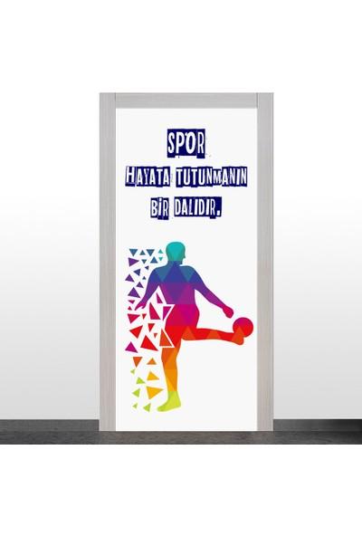 Okularenkkat Spor Odası Kapı Giydirme-1.1