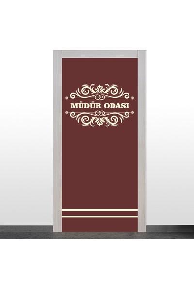Okularenkkat Müdür Odası Kapı Giydirme- 4