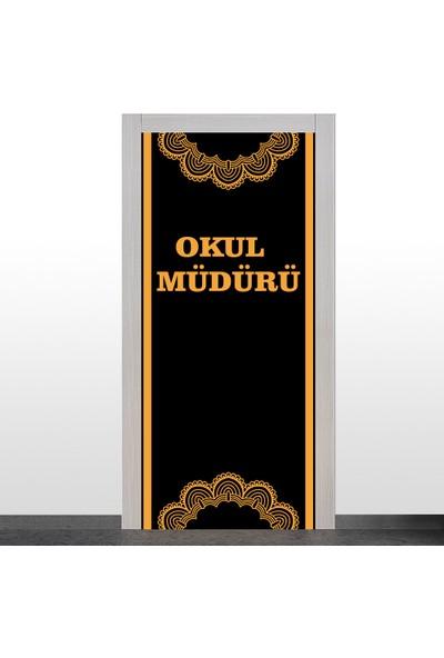 Okularenkkat Okul Müdürü Kapı Giydirme-2