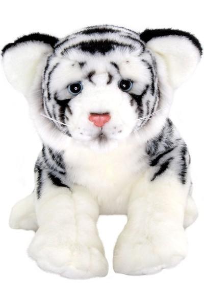 Animals Of The World Floppy Beyaz Kaplan Peluş Oyunca 30 cm