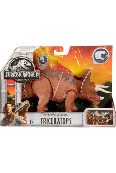 Jurassic World Triceratops Sesli Dinazor Figür 33 cm