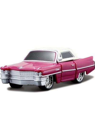 Maisto Cadillac 63 Coupe Deville Oyuncak Araba Mor