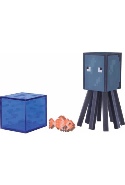 Minecraft Squid Figür Oyuncak 7 cm