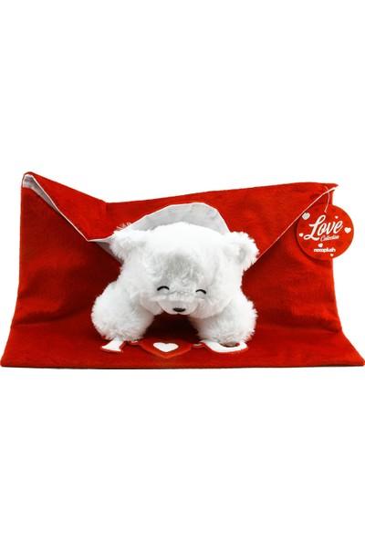 Neco Plush Fluffy Zarf İçi Sürpriz Ayı