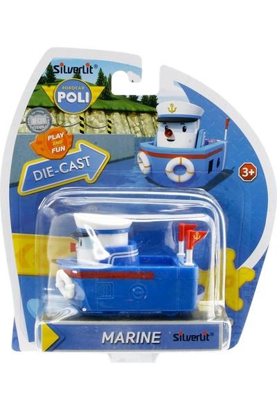 Robocar Poli Metal Araç Marine Figür