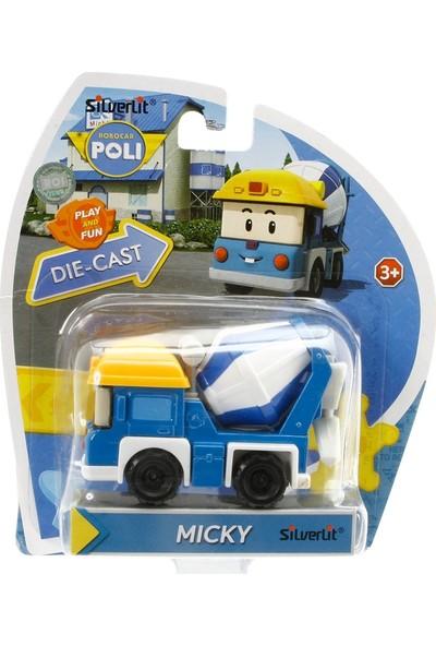 Robocar Poli Metal Araç Micky Figür