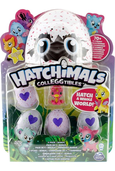 Hatchimals Dörtlü Figür Paket Model 7