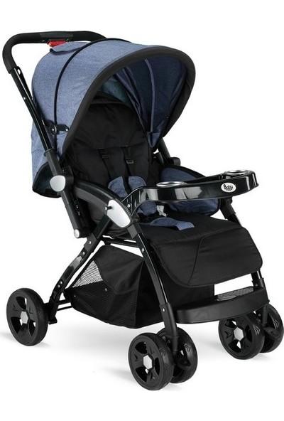 Babyhope BH-3055 Süper Grand Çift Yönlü Bebek Arabası Kot