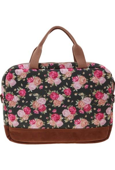Bloomin Çanta Hill Roses Laptop Çantası LB02004