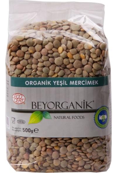 Beyorganik Organik Yeşil Mercimek 500 gr