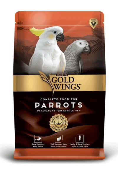Gold Wings Premium Papağan Yemi 750 gr 5'Li Paket