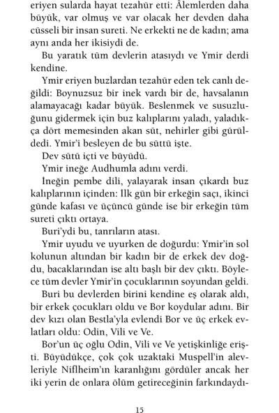 İskandinav Mitolojisi - Neil Gaiman(Ciltli)
