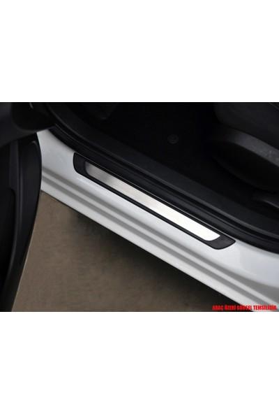 S-Dizayn S-Dizayn Volkswagen Polo 5 Krom Kapı Eşik Koruması Krom Line 2014-2017 4 Parça