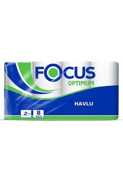 Focus Optimum Kağıt Havlu 8 Rulo