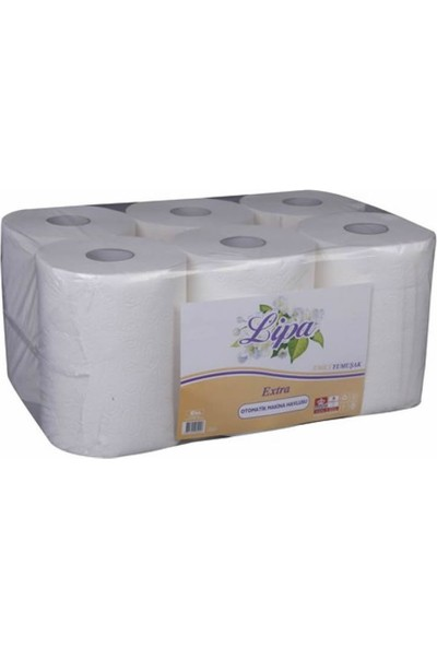 Lipa Kağıt Havlu Makinesi Kağıdı 21 cm 6 Rulo