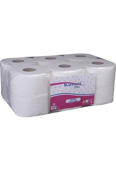 Kumru Plus Mini Jumbo Tuvalet Kağıdı 12 Rulo