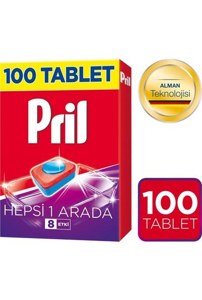 Pril Hepsi 1 Arada Bulaşık Makinesi Deterjanı 100 Tablet
