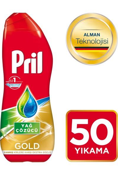 Pril Gold Bulaşık Makinesi Jel Deterjanı Yağ Çözücü 900 ml 50 Yıkama