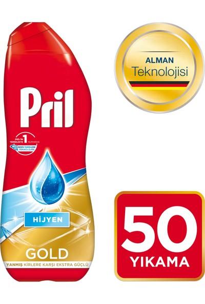 Pril Gold Bulaşık Makinesi Jel Deterjanı Hijyen 900 ml 50 Yıkama
