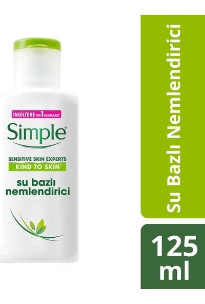 Simple Kind To Skin Hassas Ciltlere Uygun Sert Kimyasal İçermeyen Su Bazlı Nemlendirici 125 ML