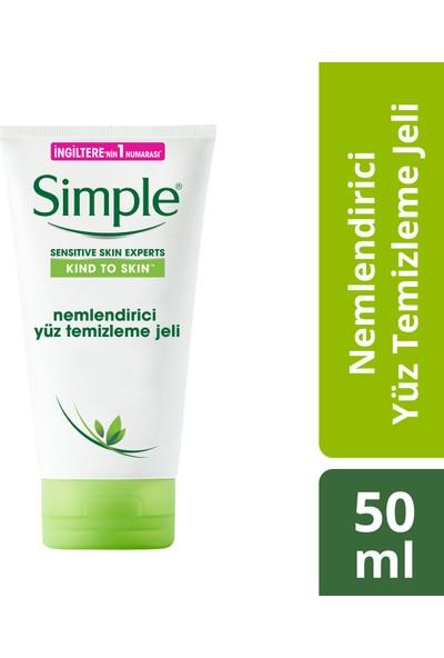 Simple Nemlendirici Yüz Temizleme Jeli 50 ml
