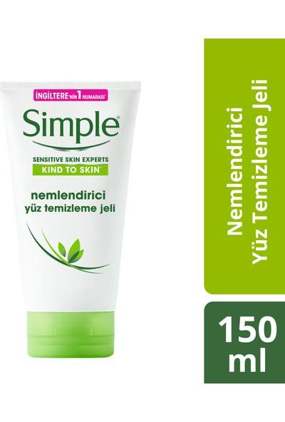 Simple Nemlendirici Yüz Temizleme Jeli 150 ml