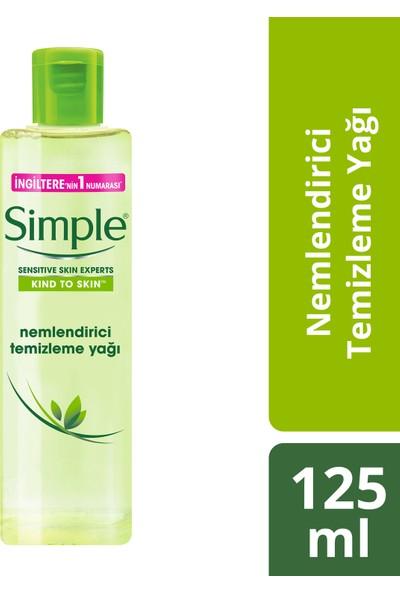 Simple Kind To Skin Nemlendirici Temizleme Yağı - Üzüm Çekirdeği Yağı 125 Ml